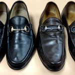 Men's shoes restored